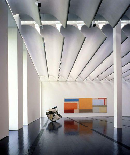 Menil Collection-Houston  Architect: Renzo Piano