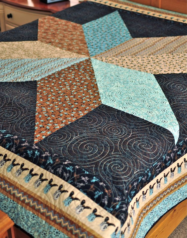 172 Best Cowboy Quilts Images On Pinterest Hand Crafts Jellyroll