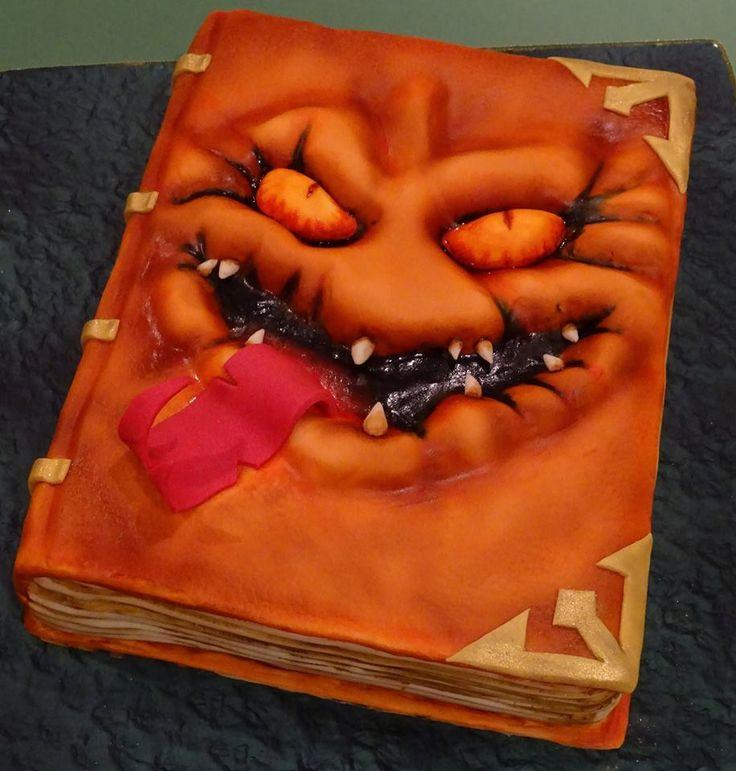 Nexo Knights Book Of Monsters Cake