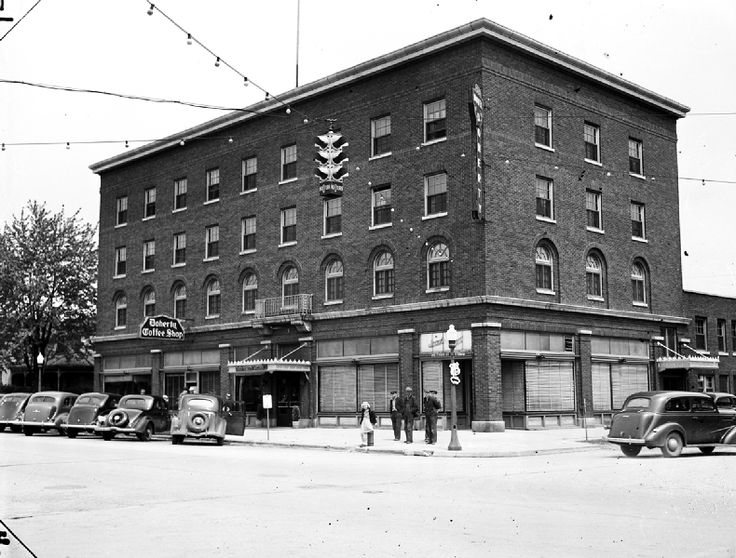 Historical Le Michigan Cities Clare Doherty Hotel Date 5 14 1938