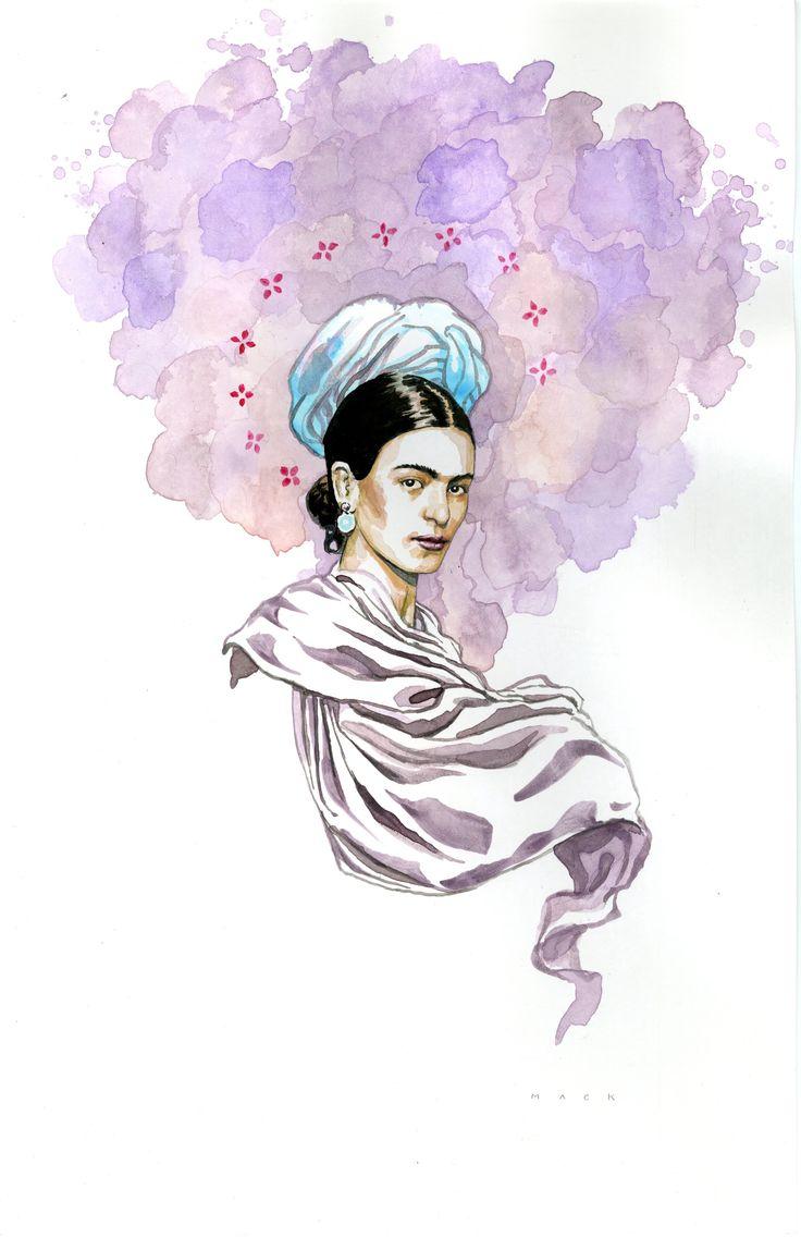 Frida Kahlo  David Mack