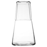 Skruf Water Carafe with glass.