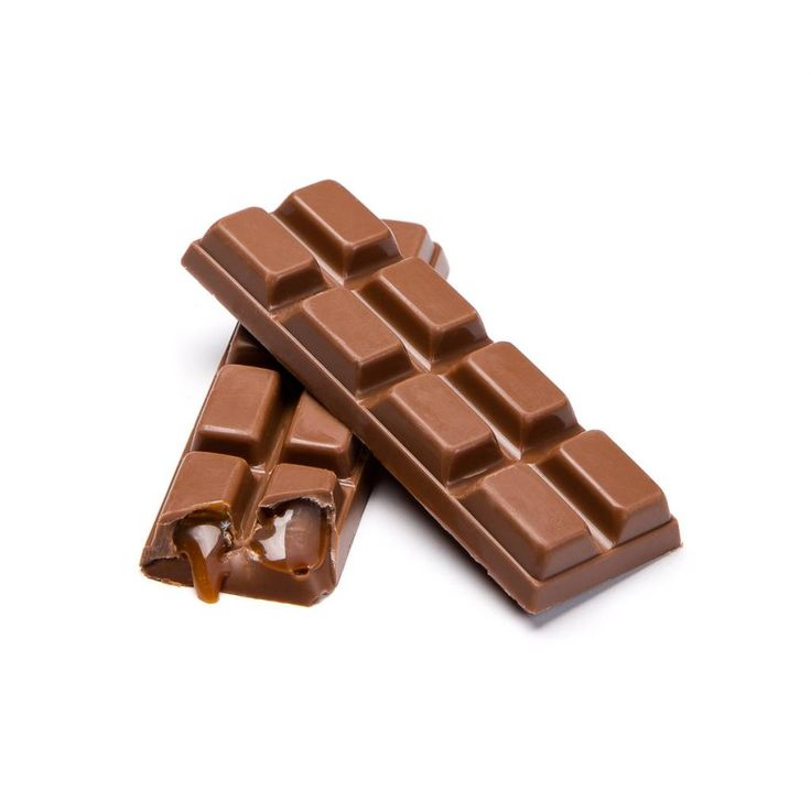 Barre de chocolat au lait et caramel de 52 g 3.99 $