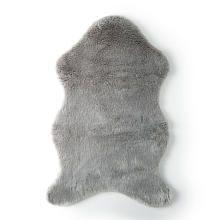 Levtex Baby Grey Faux Fur Throw