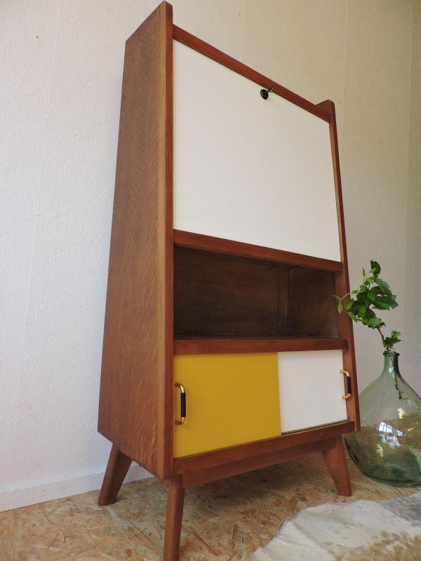 les 25 meilleures id es de la cat gorie secretaire vintage sur pinterest secretaire meuble. Black Bedroom Furniture Sets. Home Design Ideas