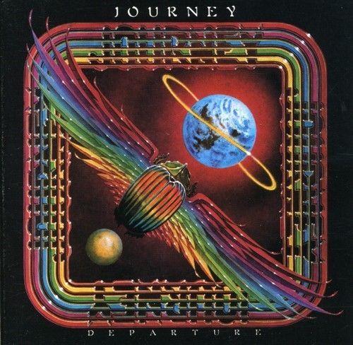 Journey Departure Expanded Version Remastered Bonus Tracks Digipak Ne Album Covers Album Cover Art Rock Album Covers