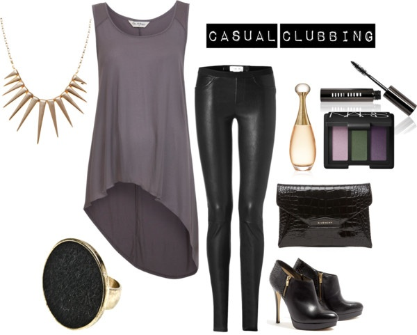 """""""Casual Clubbing"""" by gumblr on Polyvore: Girly Ish, Casual Club Outfit, Fashion Styl"""
