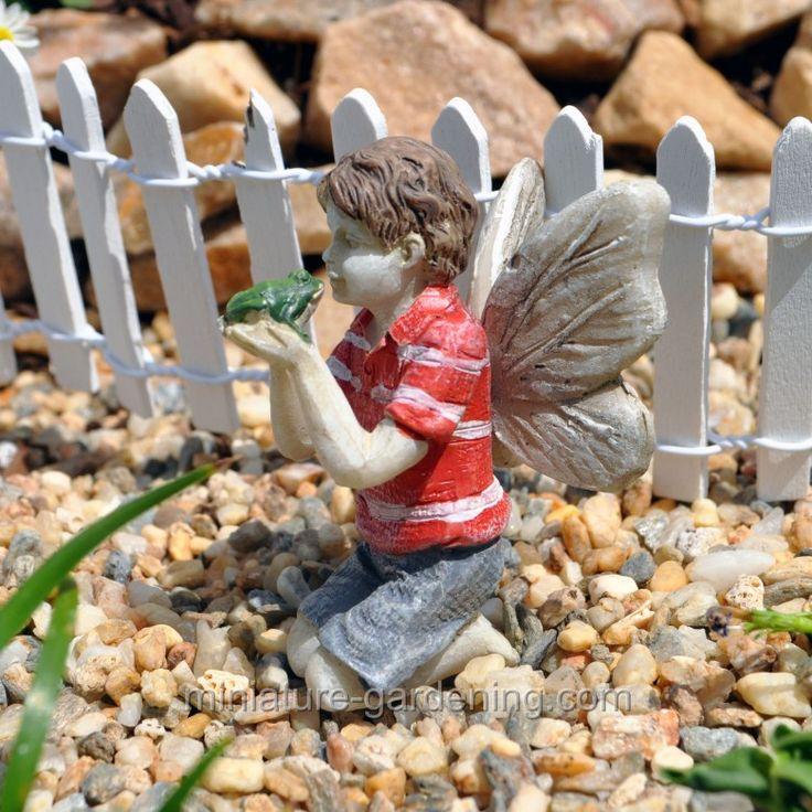 Fairy Ethan. Miniature Fairy GardensMiniature ...
