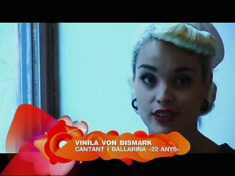 Vinila Von Bismark (Krakovia) @ Silenci? (02/12/2008 Canal 33 - TV Catalunya)