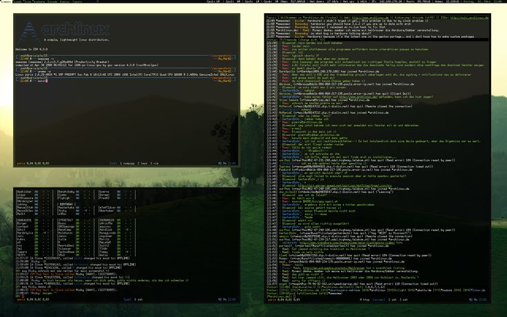 ArchLinux - Awesome Greenish by nustyle.deviantart.com on @deviantART