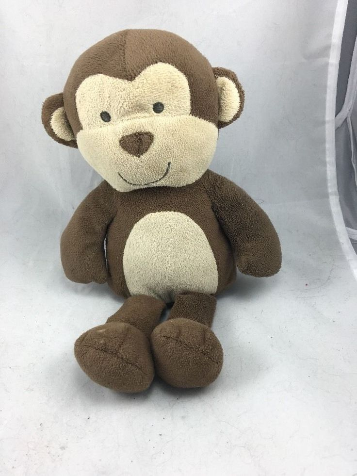 Child of Mine Carters Monkey Lovey Plush Brown | eBay