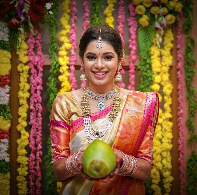 When we step into a colourful telugu wedding #teluguweddings #nelloreevents