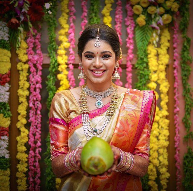 When we step into a colourful telugu wedding #teluguweddings #nelloreevents