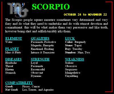Scorpio Love Quote   ... personality horoscope personality of scorpio zodiac sign scorpio image