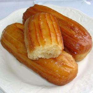 Fried Balkan Tulumbes Are Soaked in Simple Syrup: Balkan Tulumbe Pastries