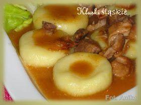 Domowa kuchnia Aniki: Kluski śląskie