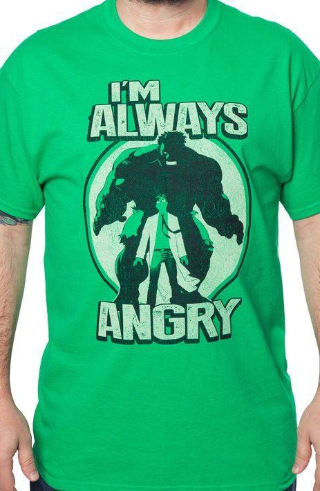 I'm Always Angry Hulk T-Shirt