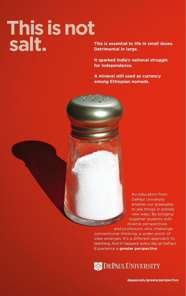 DePaul University Brand Campaign by Matt Weber, via Behance
