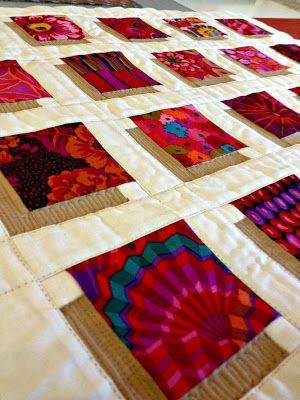 Studio Dragonfly: How To Make A Shadow Block Mini Quilt