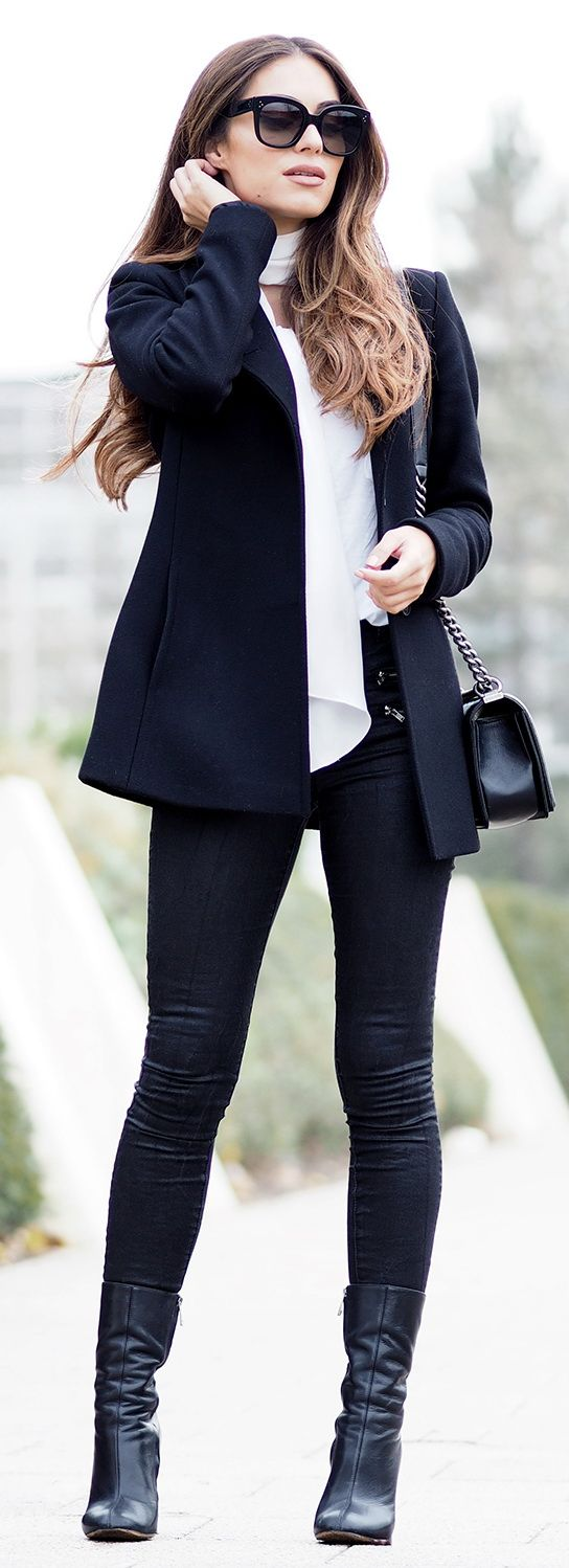 Shoes – Chloe Jacket – Reiss Jeans – Missguided Tee – Missguided Bag – Chanel Sunnies – Celine Neckscarf – DIY