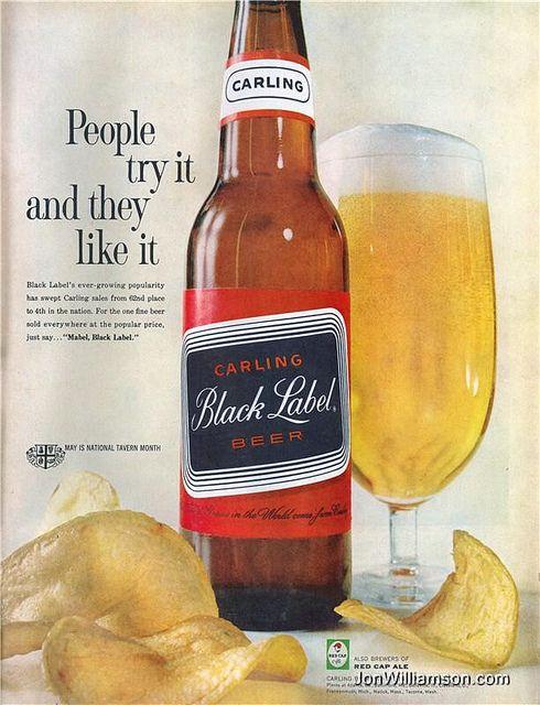 Black Label BeerAles Lag, Beer Posters, Beer Bottle, Classic Beer, Mabel Black Labels Carl, Labels Carl Black, Black Labels Beer, Beer Ads, Beer Snoberi