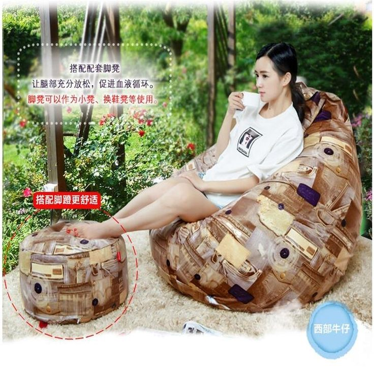 (106.50$)  Watch more here - http://aiya1.worlditems.win/all/product.php?id=32755202009 - Ywxuege lounger beanbag chair sofa microfiber large size (including packing) bean bag chair living room furniture cheap bean bag