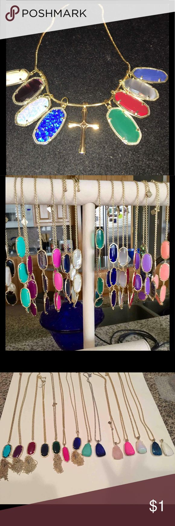 Kendra Scott share Dani Pendants to wear with crosses, Noelle necklaces, Sandr's Rayne's and Frances sans 3 agate Sandra's and Blue Goldstone Sandra, Most of my Morgan's Kendra Scott Jewelry Earrings