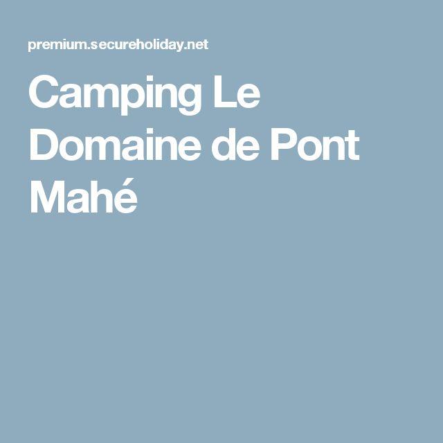 Camping Le Domaine de Pont Mahé