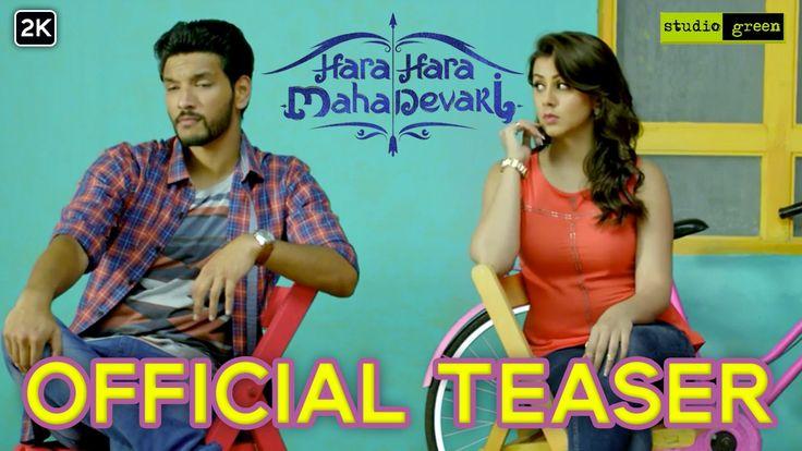 Hara Hara Mahadevaki - Official Teaser | Gautham Karthik, Nikki Galrani ...