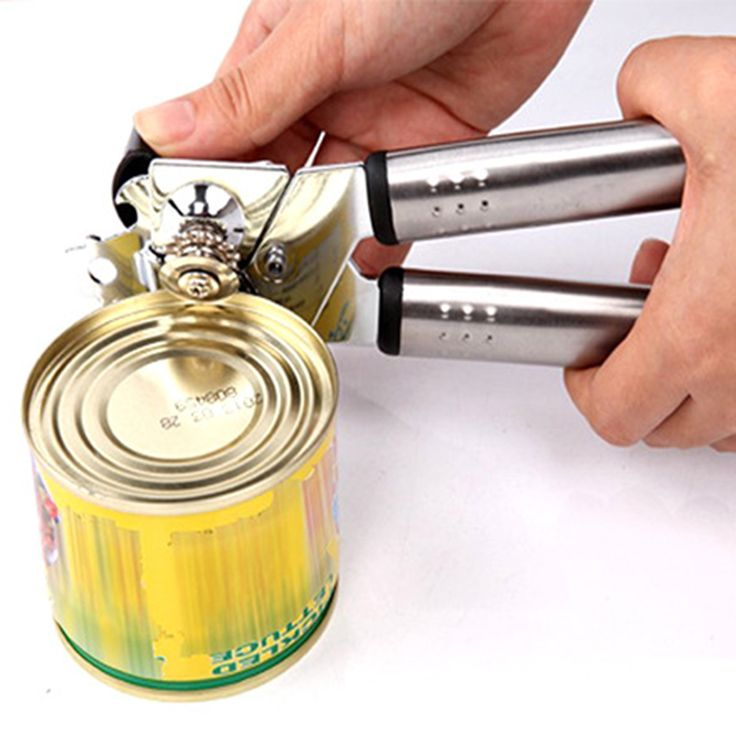 Hot Multifungsi Stainless Steel Profesional Timah Pengguna Dapat Pembuka Kerajinan bir Grip Pembuka Kaleng Pembuka Botol dapur gadget