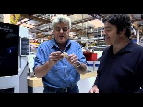 Jay Leno 3D Scanner (VIDEO)