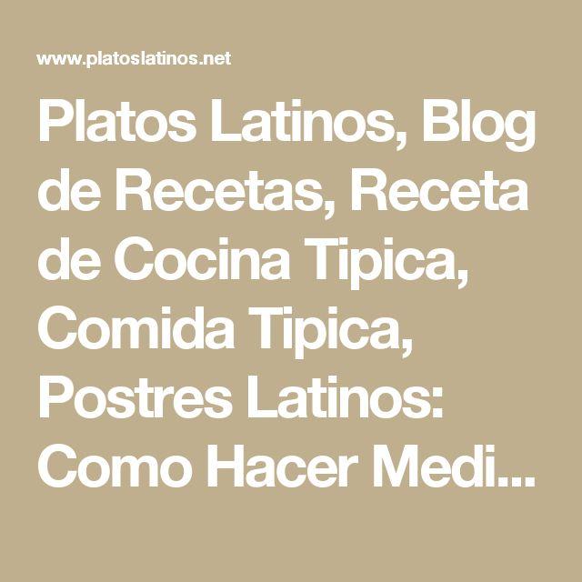 Platos Latinos, Blog de Recetas, Receta de Cocina Tipica, Comida Tipica, Postres Latinos: Como Hacer Medialunas Para Celíacos, Postres Para Celiacos