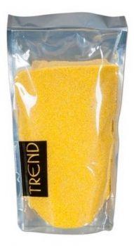 Dekorační barevný písek - žlutý 500g č. SA13053