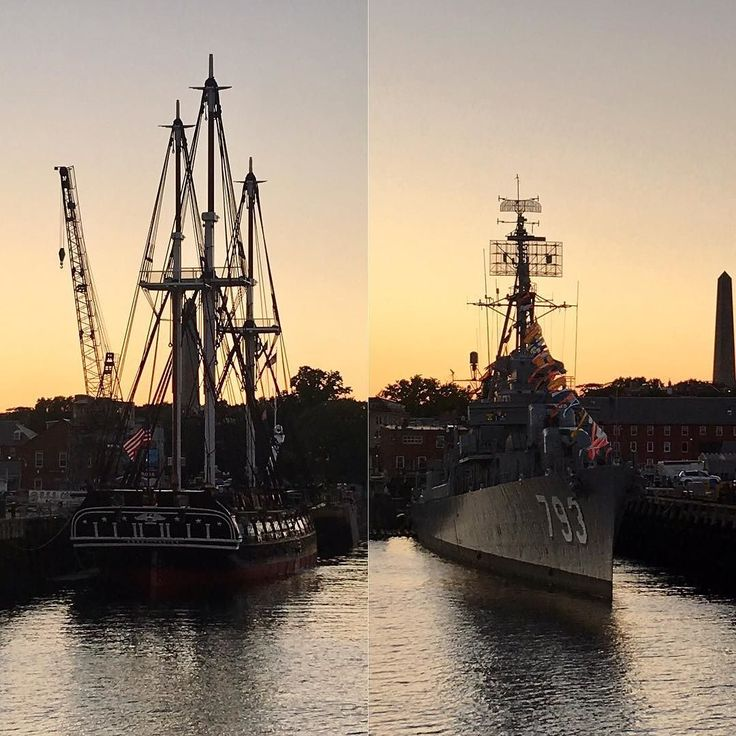 A tale of two ships. The more modern ship was the last ship hit by a kamikaze pilot at Pearl Harbor. #coolhistory  #wwiihistory