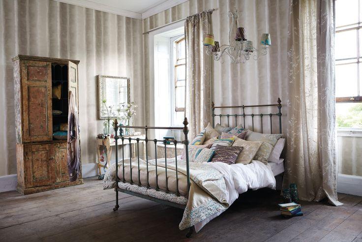 Dander tekstiler i sengen! Her fra Tapethuset. www.tapethuset.no