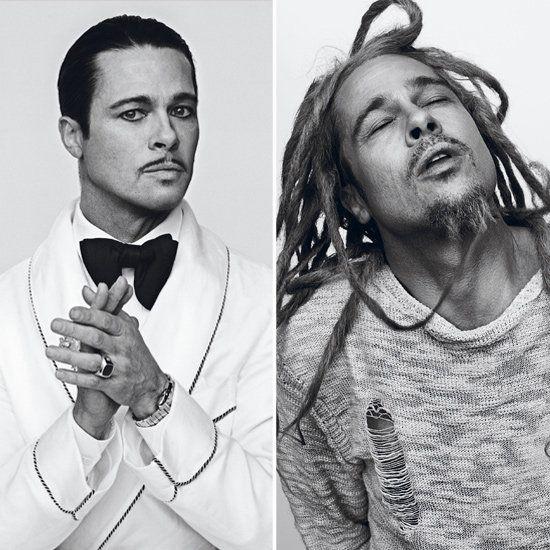 Brad Pitt in Interview Magazine October 2012 | Pictures | POPSUGAR Celebrity