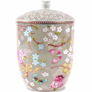 Pip Storage Jar Chinese Rose - khaki i gruppen FÖRVARING / Askar & Burkar & Lådor hos HouseofHedda.com (PIPStorgJarChineRKhaki)