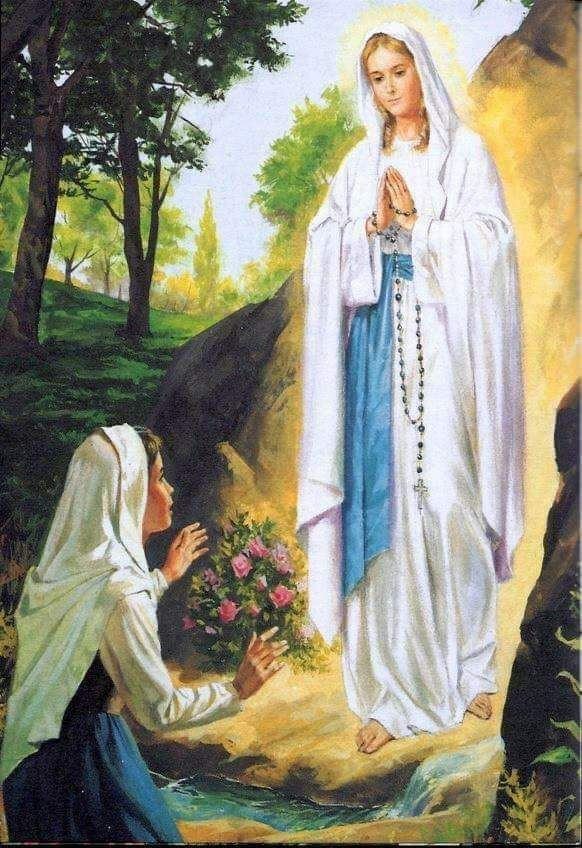 Prayers To Our Lady Of Lourdes For Healing Of The Sick