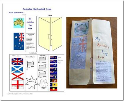 Australia lapbook  from United Teaching Discoveries