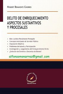 LIBROS EN DERECHO: DELITO DE ENRIQUECIMIENTO ASPECTOS SUSTANTIVOS Y P...