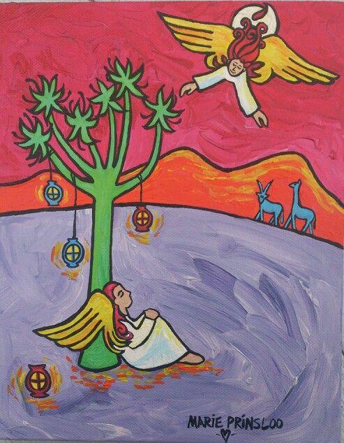 """African Angels"" by Marie Prinsloo"