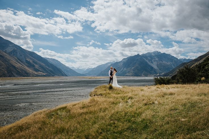 Erewhon Station in the heart of the South Island is a super stunning location for weddings.    Tegan Clark Photography