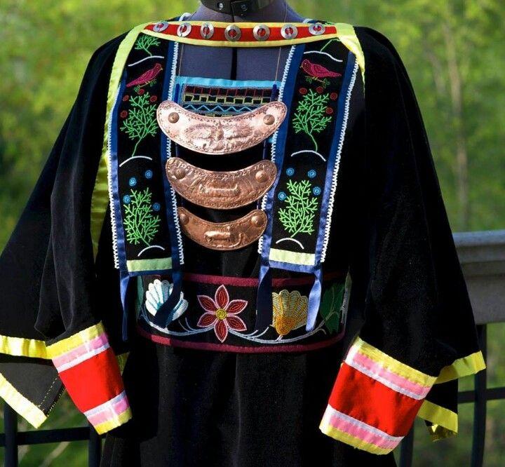 Ojibwe strap dress by S. Marks