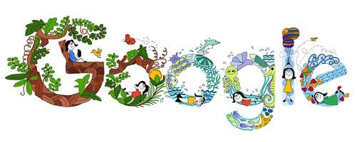 Doodle 4 Google - Children's Day 2016 (India)  Date: November 14 2016  Location: India  Tags: