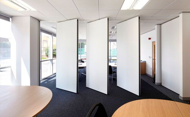 Djr commercial interiors can create bespoke moveable walls for Retractable walls commercial