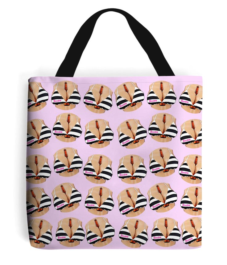 Boobs & Beer Tote Bag...is there anything better? #lager #beer #boobs #boobie #barbie #bikini #totebags #bags #pinkbags #fashion #lgbt #pride