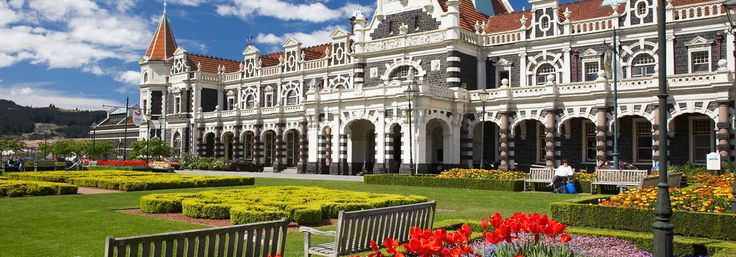 Dunedin is home to beautiful Victorian architecture.