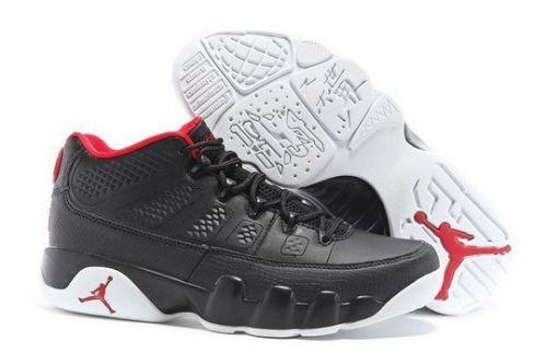 fcd4c0fbd76a High Quality Air Jordan 9 Low Chicago Black White-Gym Red - Mysecretshoes