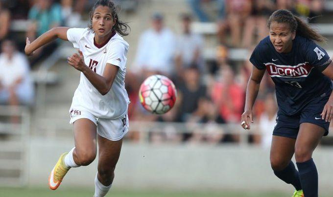 Deyna Castellanos marcó doblete en la goleada de Seminoles ante Alabama #Deportes #Fútbol