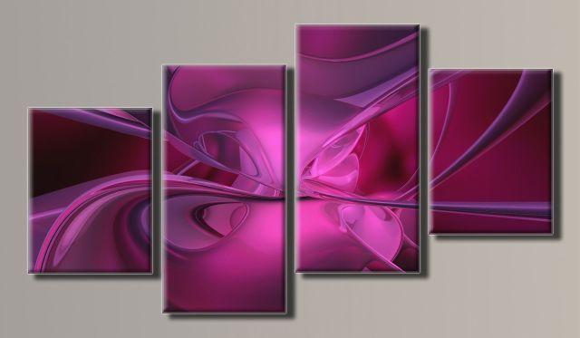 Картина модульная (56х102 см.) - Абстракция 5, Арт. HAF-049
